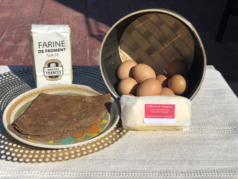 Minoterie Francès, produit local crêperie Blé Noir Guilers