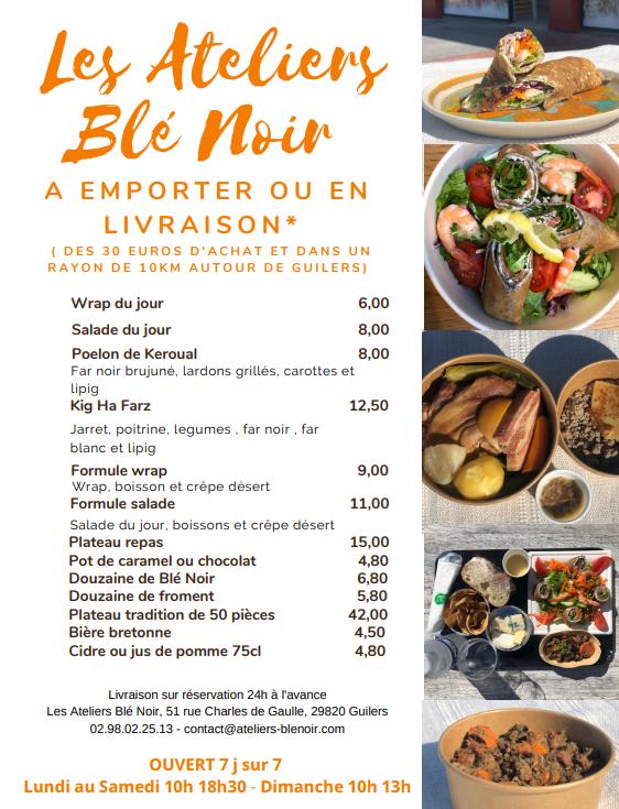 Blé Noir: Service click & collect au bourg de Guilers